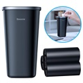 Baseus Dust-Free Mini Car Rubbish Bin CRLJT-A01 - Black