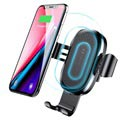 Baseus Gravity Air Vent Car Holder / Qi Wireless Charger