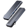 Baseus Harmonica 5-in-1 USB-C Hub with PD Port - Grey