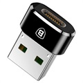 Baseus Mini USB 2.0 / USB 3.1 Type-C Adapter - Black