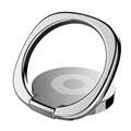 Baseus Privity Magnetic Ring Holder for Smartphones - Silver
