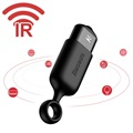 Baseus R03 Infrared Remote Control - MicroUSB - Black