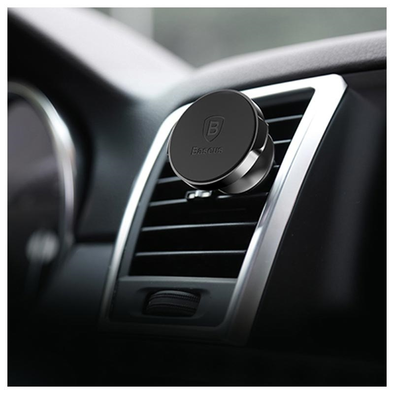 Baseus Small Ears Magnetic Air Vent Car Holder SUER-A01 - Black