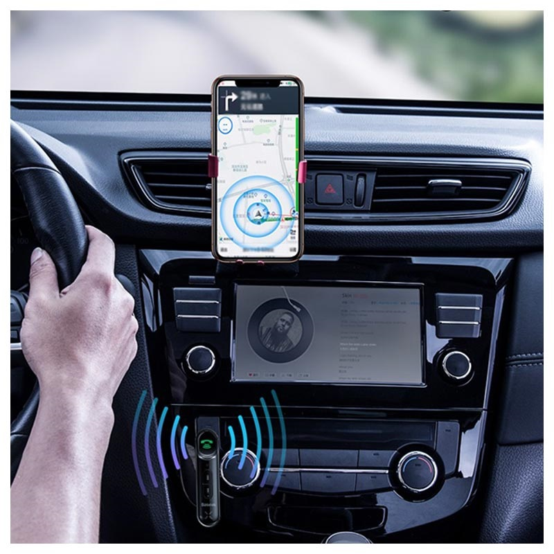 Baseus Type 7 AUX Bluetooth Hands-Free Car Kit
