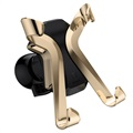 Baseus X-shaped Universal Air Vent Car Holder - Gold