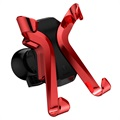 Baseus X-shaped Universal Air Vent Car Holder - Red