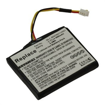 Battery TomTom Via 1535T, Via 1535TM, Z1230 - 900mAh