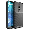 Beetle Carbon Fiber Nokia 7.1 Case - Black