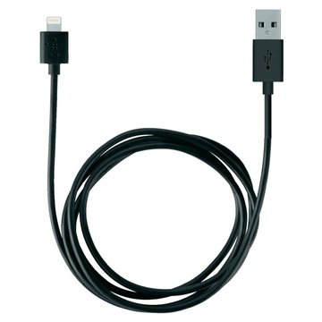 Belkin Lightning / USB ChargeSync Cable - Black - 2m