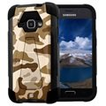 Samsung Galaxy J1 (2016) Beyond Cell Hyber V2 Shell Case - Desert Camouflage