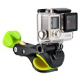Action Camera & GoPro Bike Holder SV-BC001 - Black / Lime Green