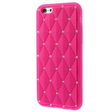 iPhone 6 / 6S Bling Diamond Silicone Case
