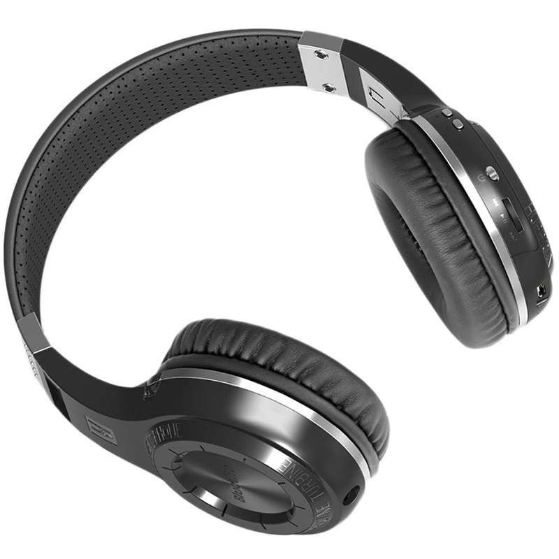 Bluedio Turbine H+ Bluetooth 4.1 Stereo Headset - Black