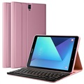 Samsung Galaxy Tab S3 9.7 Bluetooth Keyboard Case - Rose Gold