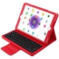 iPad Pro 9.7 Bluetooth Keyboard & Folio Case - Red