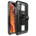 BodyGuardz SlideVue Unequal iPhone XS Max Case - Smoke / Black