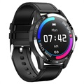 Business Style Waterproof Smartwatch with Heart Rate G20 - Black
