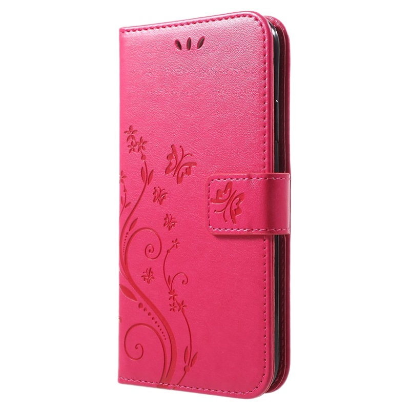 Butterfly Series iPhone XR Wallet Case