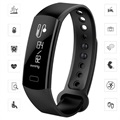 C07 Bluetooth Smart HR Waterproof Activity Tracker - Black