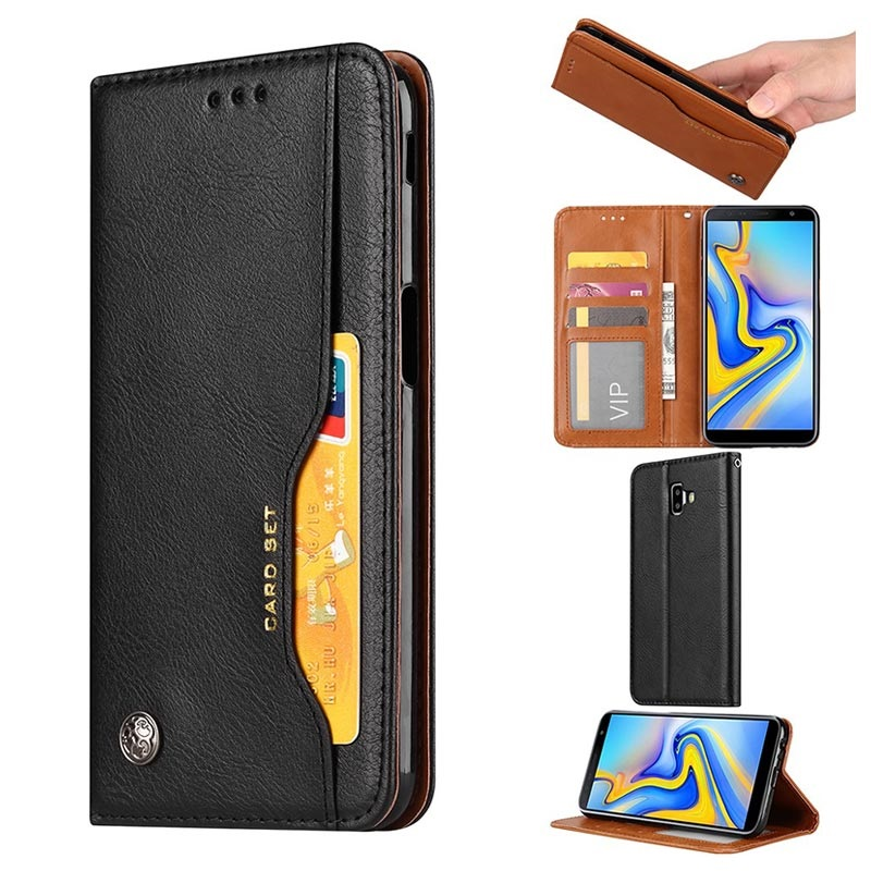hot sale online 8ea31 82e57 Card Set Series Samsung Galaxy J6+ Wallet Case
