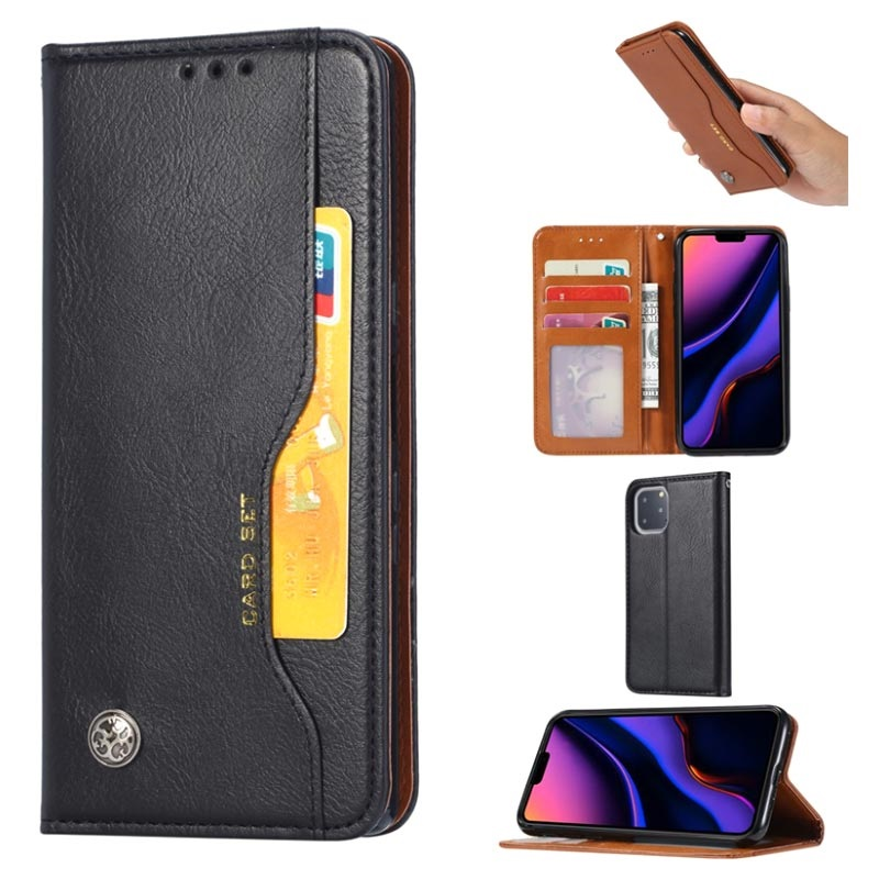 Card Set Series iPhone 11 Pro Max Wallet Case - Black