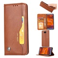Card Set Series Sony Xperia 10 Wallet Case - Brown