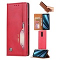 Card Set Series Sony Xperia 1 Wallet Case - Red