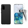 Samsung Galaxy S20 Case w/ 2x Tempered Glass Screen Protector