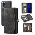Caseme 2-in-1 Multifunctional Huawei P30 Pro Wallet Case - Grey