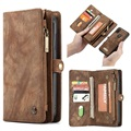Caseme 2-in-1 Multifunctional Samsung Galaxy A20e Wallet Case - Brown