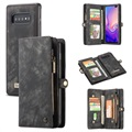 Caseme 2-in-1 Multifunctional Samsung Galaxy S10 Wallet Case - Black