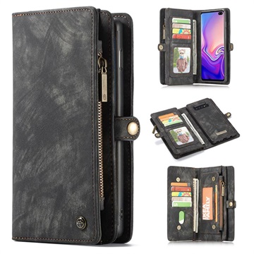 CaseMe 2-in-1 Multifunctional Samsung Galaxy S10+ Wallet Case - Grey