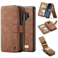 Samsung Galaxy S9 Caseme 2-in-1 Wallet Case with Magnetic Cover - Brown