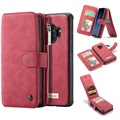 Samsung Galaxy S9 Caseme 2-in-1 Wallet Case with Magnetic Cover - Red