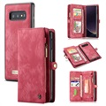 Caseme Multifunctional Samsung Galaxy S10e Wallet Case - Red