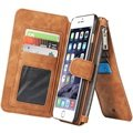 iPhone 6 Plus/6S Plus Caseme Multifunctional Wallet Leather Case - Brown