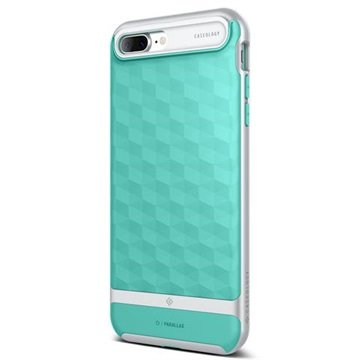 detailed look bee86 3c5ff iPhone 7 Plus Caseology Parallax Hybrid Case - Mint / Silver