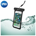 "Celly SplashBag Universal Waterproof Case - 6.2"" - Black"