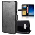 Samsung Galaxy Note8 Classic Wallet Case - Black