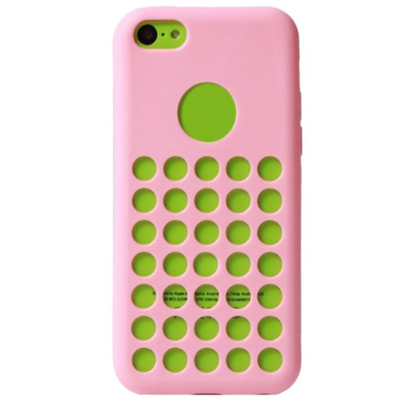 iPhone 5C Code Heat Dissipation TPU Case