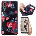 Huawei P20 Color Series TPU Case - Roses