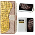 Croco Bling Series iPhone 12 Pro Max Wallet Case
