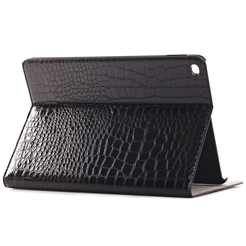 iPad Air 2 Folio Case - Crocodile - Black