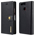 Huawei P9 Dg.Ming 2-in-1 Wallet Case - Black
