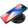 Devia Non-Pole Fast Qi Wireless Charging Pad - 10W - Black