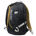 "Dicota Active Laptop Backpack - 15.6"" - Black / Yellow"