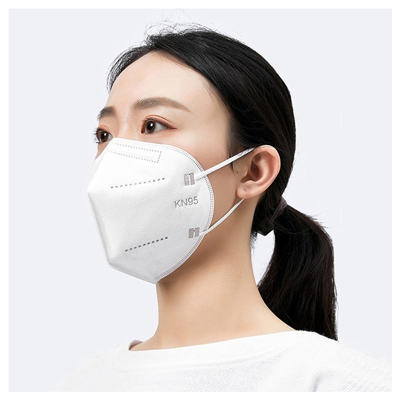 Disposable 4-Layer Protective Mask - KN95 - 2 Pcs.
