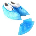 Disposable Plastic Shoe Cover with Elastic Band - 100 Pcs.