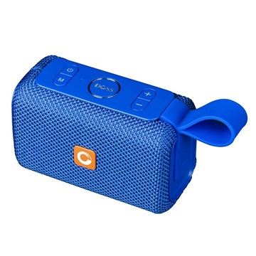 Doss E-go Waterproof Bluetooth Speaker - Blue