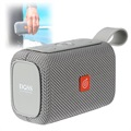 Doss E-go Waterproof Bluetooth Speaker - Grey